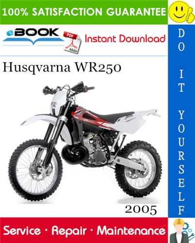 Thumbnail ☆☆ Best ☆☆ 2005 Husqvarna WR250 Motorcycle Service Repair Manual