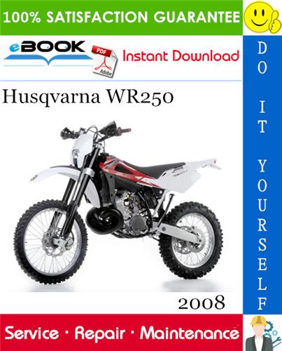 Thumbnail ☆☆ Best ☆☆ 2008 Husqvarna WR250 Motorcycle Service Repair Manual