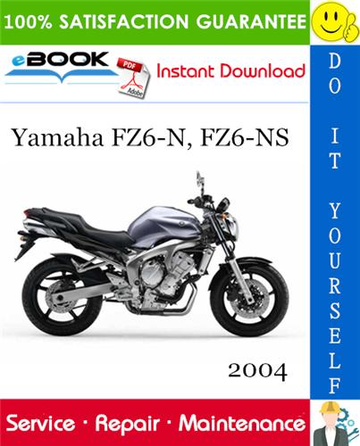 Thumbnail ☆☆ Best ☆☆ 2004 Yamaha FZ6-N, FZ6-NS Motorcycle Supplementary Service Manual