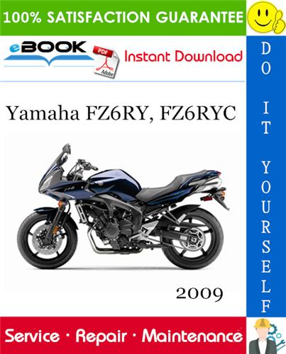 Thumbnail ☆☆ Best ☆☆ 2009 Yamaha FZ6RY, FZ6RYC Motorcycle Service Repair Manual