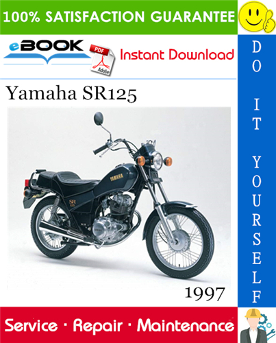 Thumbnail ☆☆ Best ☆☆ 1997 Yamaha SR125 Motorcycle Service Repair Manual