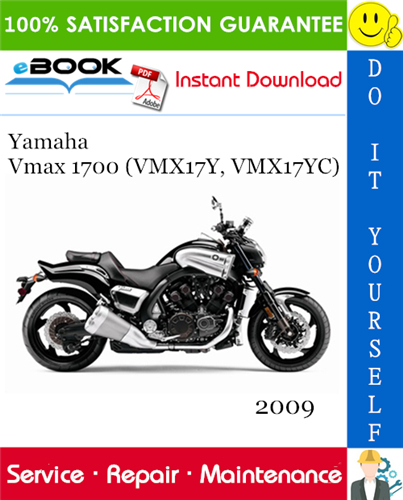 Thumbnail ☆☆ Best ☆☆ 2009 Yamaha Vmax 1700 (VMX17Y, VMX17YC) Motorcycle Service Repair Manual