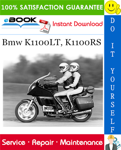 Thumbnail ☆☆ Best ☆☆ Bmw K1100LT, K1100RS Motorcycle Service Repair Manual