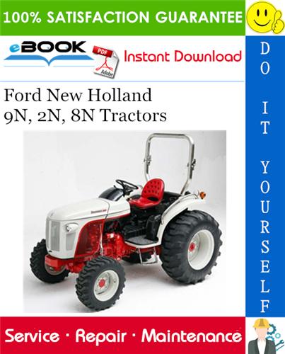Thumbnail ☆☆ Best ☆☆ Ford New Holland 9N, 2N, 8N Tractors Service Repair Manual