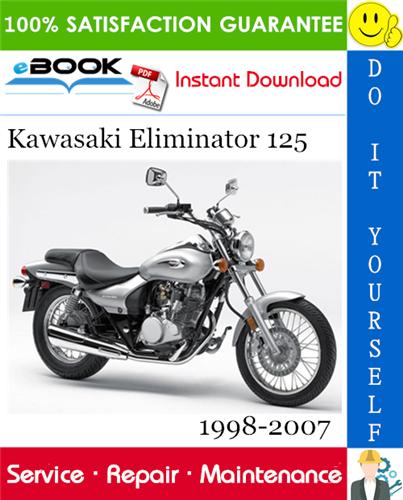 Thumbnail ☆☆ Best ☆☆ Kawasaki Eliminator 125 Motorcycle Service Repair Manual 1998-2007 Download