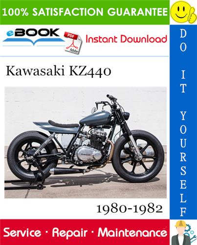 Thumbnail ☆☆ Best ☆☆ Kawasaki KZ440 Motorcycle Service Repair Manual 1980-1982 Download