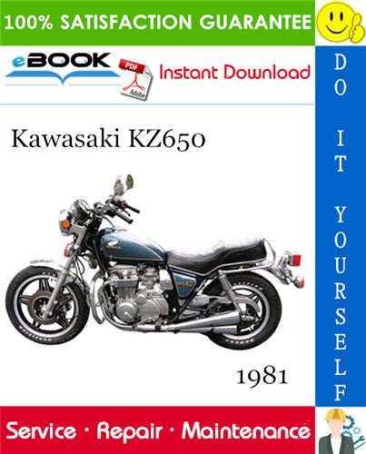 Thumbnail ☆☆ Best ☆☆ 1981 Kawasaki KZ650 Motorcycle Service Repair Manual