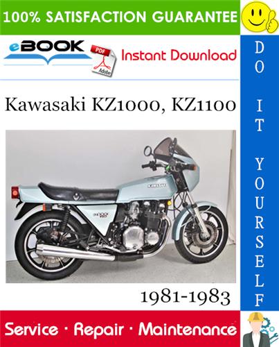 Thumbnail ☆☆ Best ☆☆ Kawasaki KZ1000, KZ1100 Motorcycle Service Repair Manual 1981-1983 Download