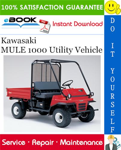 Thumbnail ☆☆ Best ☆☆ Kawasaki MULE 1000 Utility Vehicle Service Repair Manual