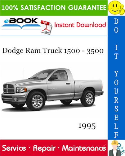 Thumbnail ☆☆ Best ☆☆ 1995 Dodge Ram Truck 1500 - 3500 Service Repair Manual