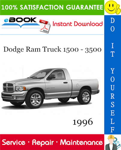 Thumbnail ☆☆ Best ☆☆ 1996 Dodge Ram Truck 1500 - 3500 Service Repair Manual
