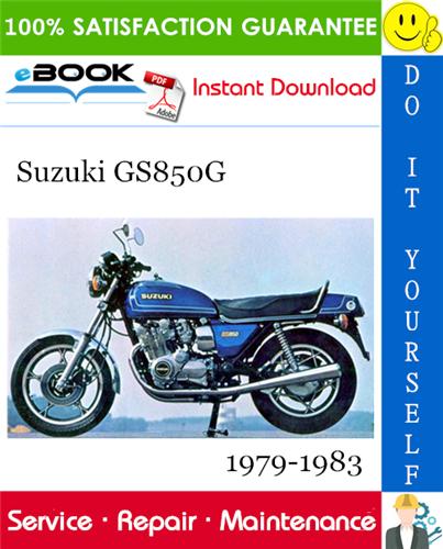 Thumbnail ☆☆ Best ☆☆ Suzuki GS850G Motorcycle Service Repair Manual 1979-1983 Download