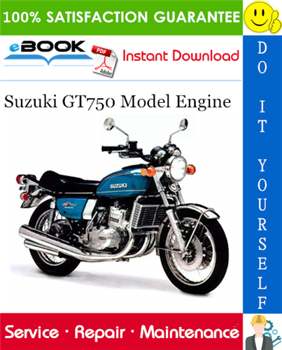 Thumbnail ☆☆ Best ☆☆ Suzuki GT750 Model Engine Service Repair Manual
