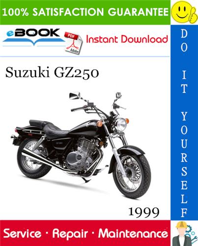 Thumbnail ☆☆ Best ☆☆ 1999 Suzuki GZ250 Motorcycle Service Repair Manual