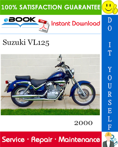 Thumbnail ☆☆ Best ☆☆ 2000 Suzuki VL125 Motorcycle Service Repair Manual