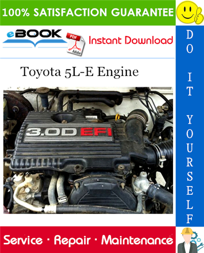 Thumbnail ☆☆ Best ☆☆ Toyota 5L-E Engine Service Repair Manual