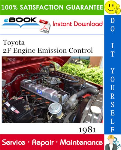 Thumbnail ☆☆ Best ☆☆ 1981 Toyota 2F Engine Emission Control Service Repair Manual