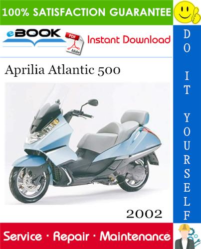Thumbnail ☆☆ Best ☆☆ 2002 Aprilia Atlantic 500 Motorcycle Service Repair Manual