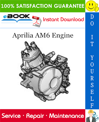 Thumbnail ☆☆ Best ☆☆ Aprilia AM6 Engine Service Repair Manual