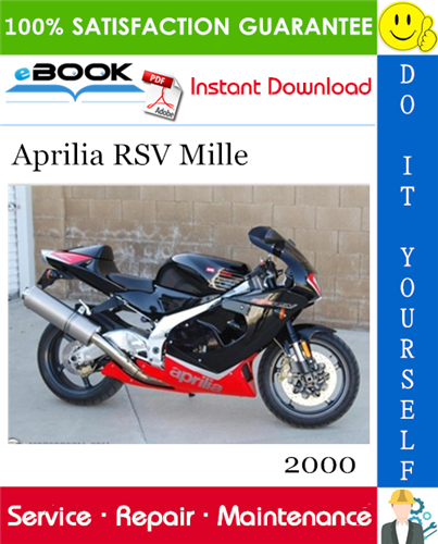Thumbnail ☆☆ Best ☆☆ 2000 Aprilia RSV Mille Motorcycle Service Repair Manual
