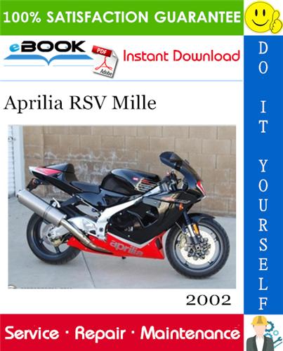 Thumbnail ☆☆ Best ☆☆ 2002 Aprilia RSV Mille Motorcycle Service Repair Manual