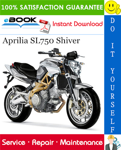 Thumbnail ☆☆ Best ☆☆ Aprilia SL750 Shiver Motorcycle Service Repair Manual
