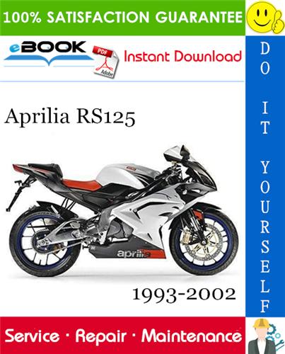 Thumbnail ☆☆ Best ☆☆ Aprilia RS125 Motorcycle Service Repair Manual 1993-2002 Download