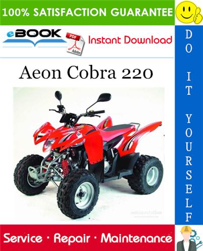 Thumbnail ☆☆ Best ☆☆ Aeon Cobra 220 ATV Service Repair Manual