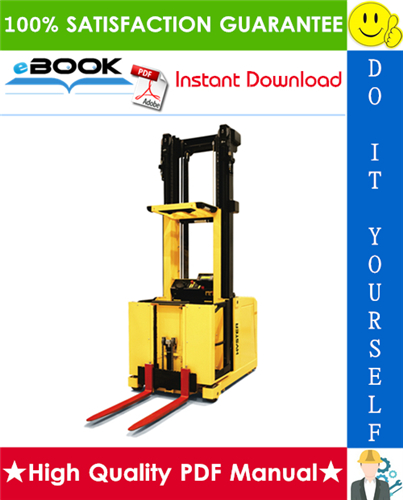 Thumbnail ☆☆ Best ☆☆ Hyster K1.0M, K1.0H (B460) Medium and High Level Order Pickers Service Repair Manual