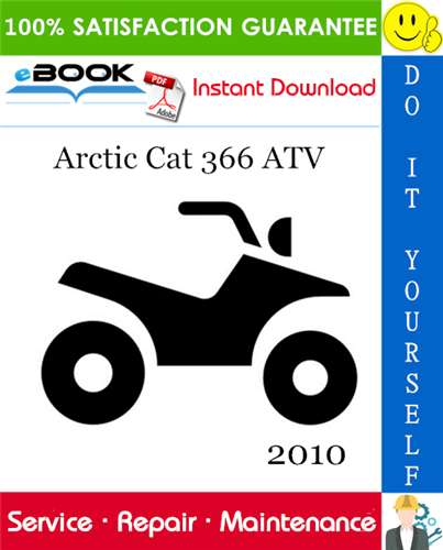 Thumbnail ☆☆ Best ☆☆ 2010 Arctic Cat 366 ATV Service Repair Manual