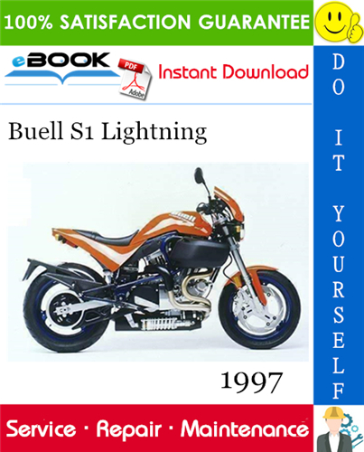 Thumbnail ☆☆ Best ☆☆ 1997 Buell S1 Lightning Motorcycle Service Repair Manual