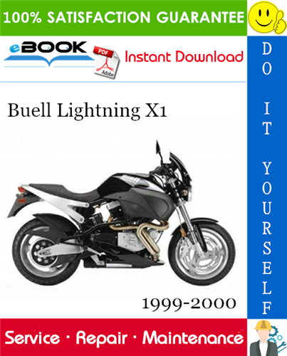 Thumbnail ☆☆ Best ☆☆ Buell Lightning X1 Motorcycle Service Repair Manual 1999-2000 Download