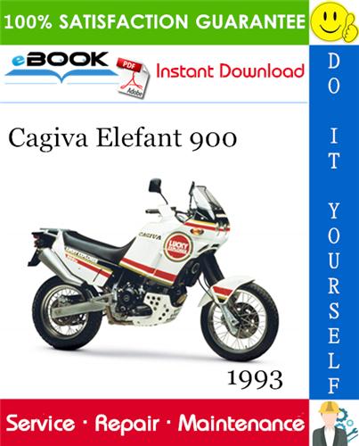 Thumbnail ☆☆ Best ☆☆ 1993 Cagiva Elefant 900 Motorcycle Service Repair Manual