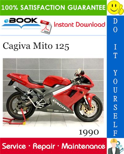 Thumbnail ☆☆ Best ☆☆ 1990 Cagiva Mito 125 Motorcycle Service Repair Manual