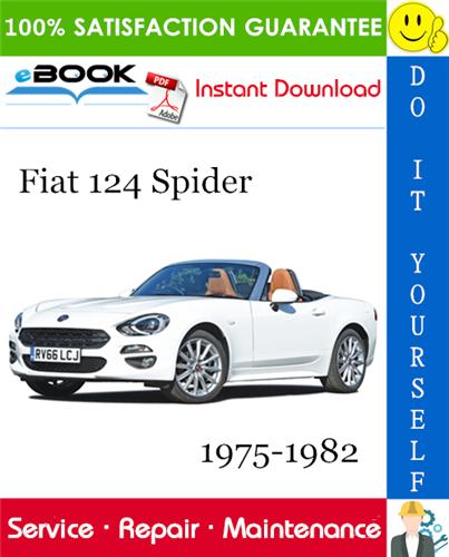Thumbnail ☆☆ Best ☆☆ Fiat 124 Spider Service Repair Manual 1975-1982 Download