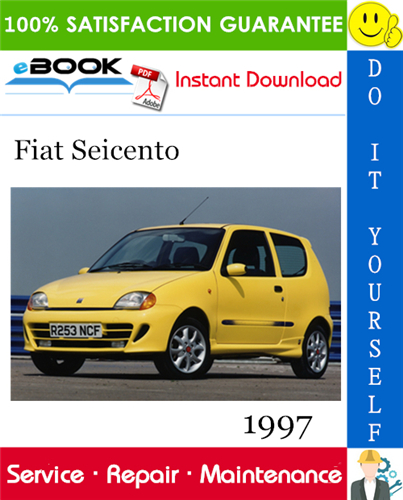 Thumbnail ☆☆ Best ☆☆ 1997 Fiat Seicento Service Repair Manual