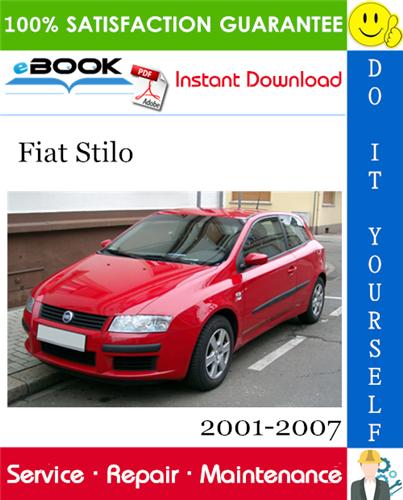 Thumbnail ☆☆ Best ☆☆ Fiat Stilo Service Repair Manual 2001-2007 Dealer Software Cd-Rom ISO Download