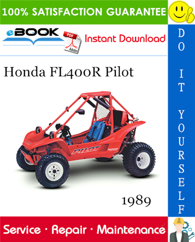 Thumbnail ☆☆ Best ☆☆ 1989 Honda FL400R Pilot All-Terrain Vehicle Service Repair Manual