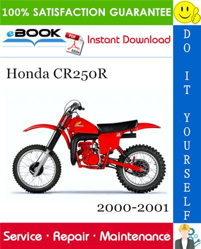 Thumbnail ☆☆ Best ☆☆ Honda CR250R Motorcycle Service Repair Manual 2000-2001 Download
