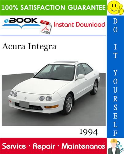 Thumbnail 1994 Acura Integra Service Repair Manual