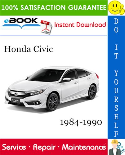 Thumbnail ☆☆ Best ☆☆ Honda Civic Service Repair Manual 1984-1990 Download
