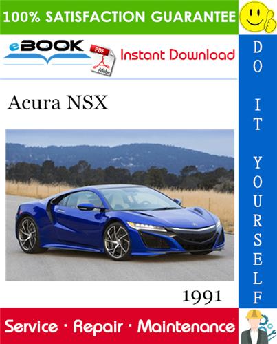 Thumbnail 1991 Acura NSX Service Repair Manual