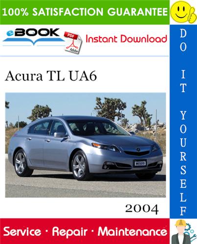 Thumbnail 2004 Acura TL UA6 Service Repair Manual