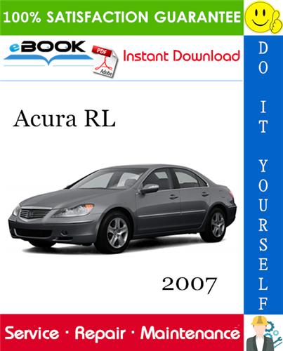 Thumbnail 2007 Acura RL Service Repair Manual