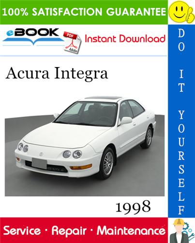 Thumbnail 1998 Acura Integra Service Repair Manual