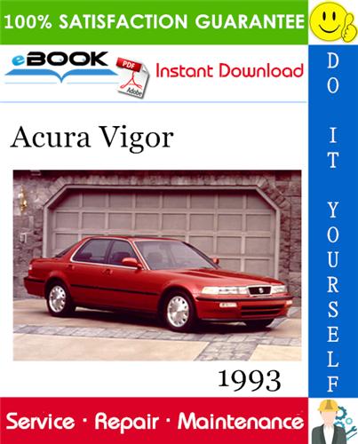 Thumbnail 1993 Acura Vigor Service Repair Manual