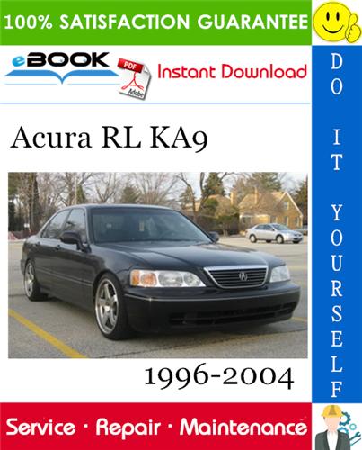 Thumbnail Acura RL KA9 Service Repair Manual 1996-2004 Download
