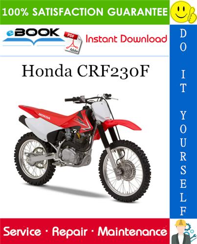 Thumbnail Honda CRF230F Motorcycle Service Repair Manual