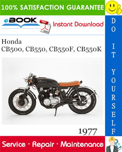 Thumbnail ☆☆ Best ☆☆ 1977 Honda CB500, CB550, CB550F, CB550K Motorcycle Service Repair Manual