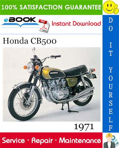 Thumbnail ☆☆ Best ☆☆ 1971 Honda CB500 Motorcycle Service Repair Manual